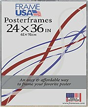 Frame USA 24x 36Schaumstoffkern Poster Rahmen (transparent)