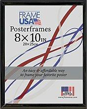Frame USA 8x 10Schaumstoffkern Poster Rahmen (schwarz)