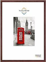 Frame World FW23 Echtholz Bilderrahmen DIN A2 für