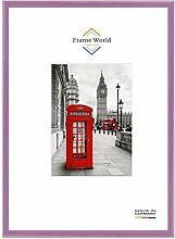 Frame World FW23 Echtholz Bilderrahmen DIN A4 für