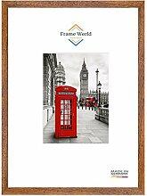 Frame World FW30 Echtholz Bilderrahmen DIN A1 für
