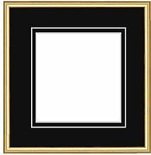 Framecraft Bath Bilderrahmen, Holz, Gold, 400 x 400