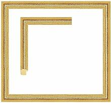 Framecraft Bath Bilderrahmen, Holz, Gold, 7x7