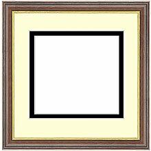 Framecraft Bilderrahmen für 4 Fotos, Holz, Walnut