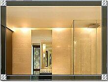 Frameless Overlaying Schminkspiegel, Wandspiegel,