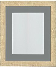 FRAMES BY POST 30,5 x 25,4 cm, Holzmaserung Tiefer