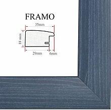 FRAMO 35 Bilderrahmen 90x60 cm, Farbe: