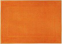 framsohn Badteppich, Baumwolle, Orange, 67 x 120