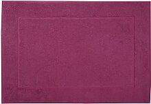 framsohn Badteppich, Baumwolle, Pink, 67 x 120