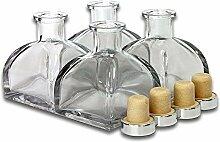 frandy House Glas Diffusor Flaschen mit Kork