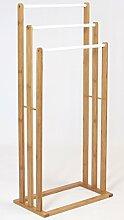 Frank Flechtwaren Handtuchhalter Bambus