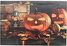Frank Flechtwaren LED-Bild Halloween