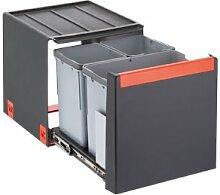Franke Cube 40 Handauszug 3-fach Mülltrennung /