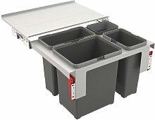 Franke Sorter Garbo 60-3 - 121.0200.680 Einbau Abfallsammlsystem Mülleimer Küche
