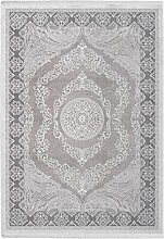 Fransen Teppich Klassisch Orientalisch Schnörkel