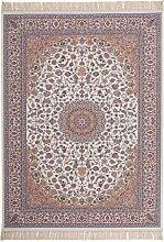 Fransen Teppich Orientalisch Aubusson Muster
