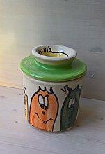 französische Wasserbutterdose für 125g Butter