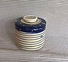 französische Wasserbutterdose Keramik für 250g