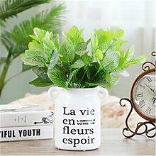 Französisches Dorf Handwerk Dekoration weißer