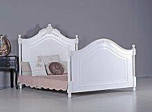 Französisches Ehebett Antik Doppelbett Vintage Bett Shabby Chic Palazzo Exclusiv