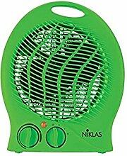 Fraschetti 539024Innenraum Lüfter Lüfter grün 2000W Elektroheizung (Heizstrahler Elektroheizung, Innenraum, Schreibtisch, Flur,, grün, Rotation, 2000W)