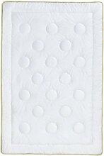Frau Holle 2235-20 Mono-Steppbett, 100% Baumwolle, 155 x 220 cm, 1.125 g