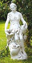 Frau mit Fisch (S101056) Anglerin Muschel