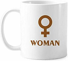 Frauen Happy Science Wissen Tasse Keramik Kaffee