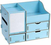 Frcolor Holz comestics Aufbewahrungsbox mit