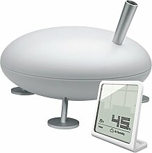 Fred Luftbefeuchter mit Selina Hygrometer - weiß