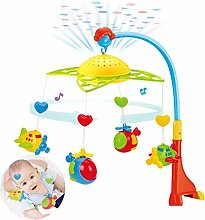 Freedomanoth Babybett Mobile Mit Lichtern Und