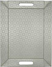 Freeform Silber - 45 x 35cm