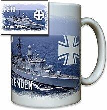 Fregatte Emden deutsche Marine Schiff EK Bundeswehr Bw Foto - Tasse Becher Kaffee #8240