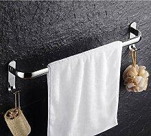 Freier Stempel 304 Edelstahl Handtuchhalter Einhebel Bad Saugnapf Handtuchhalter Handtuchhalter Bad-Accessoires ( größe : 40 cm )