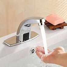 Freisprechen Wasserhahn Edelstahl Wasser sparen