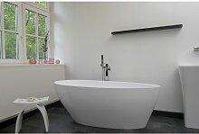 Freistehende Badewanne Mineralguss 142x62 Wannne