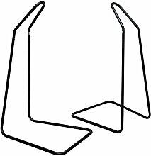 Freistehendes Hängestuhlgestell in Schwarz | Belastbarkeit max. 50KG | ca. 100x80x160 cm | Hängegestell für Federwiege Baby-Hängematte Hängewiege | Metallgestell für Hängesitze Hängesessel | Metall Stand | Für Kinder-Baby-Wippen| Für Innen- und Außenbereich