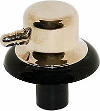 Freizeit Echte Temperatur Einstellknopf für Ofen Grill Herd (Gold)