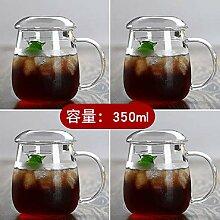 Freizeitbecher espressotassen Glas Teetasse