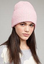 Freja Gerippte Mütze - Pink