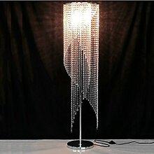 Frelt Stehlampe Europäische Wohnzimmer Moderne Luxus Led Schlafzimmer Persönlichkeit K9 Crystal Stehleuchte