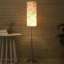 Frelt Stehlampe Neue Stehlampe Schlafzimmer Wohnzimmer Aufzug Stehleuchte Retreat Haus Lichter, einfache Moderne LED Nacht Vertikale Tisch