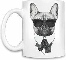 French bulldog karl Kaffee Becher