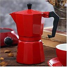 French-Press-Topf Kaffeemaschine Topf Aluminium