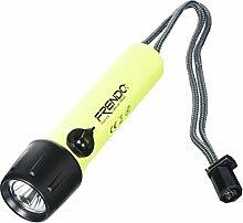 Frendo Taschenlampe, wasserdicht, Gelb, 44 x 166 mm