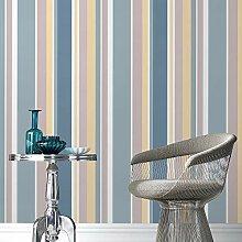 Fresco Tapete, blau, Full 10M Roll