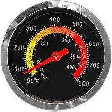Freshsell Grillthermometer, Edelstahl,