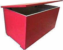 Freund Holz cmi80ro Sitzbank mit Reißverschluss 80, Holz, Rot, 84x 44x 44cm