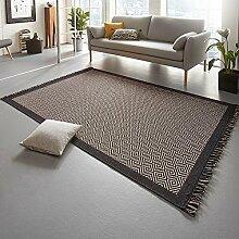 Freundin Home Collection Oslo Flachgewebe-Teppich