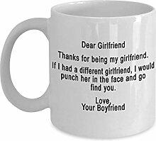 Freundingeschenke Kaffee-Haferl - danke für das